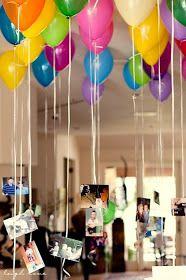 ▷ 10 tolle Ideen für eine unvergessliche Abschiedsparty - Todo Lo Que Necesitas Saber Para La Fiesta Girl First Birthday, 50th Birthday, Birthday Ideas, Grad Parties, Birthday Parties, Balloon Pictures, Hang Pictures, Yellow Balloons, White Ballons