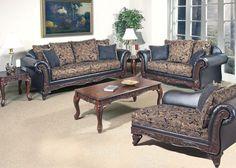 Fairfax Silas Ebony Sofa Collection | Acme Furniture | Serta | Living Room Furniture | Sofas