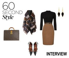 """Dream Job  Interview"" by pkgabriel ❤ liked on Polyvore featuring Phase Eight, RED Valentino, Chicwish, Louis Vuitton, Isabel Marant, jobinterview and 60secondstyle"