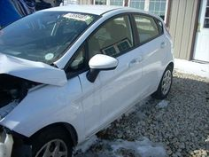 2011 Ford Fiesta being Parted Out from D&S Used Parts ini Blackstone, IL