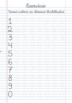 Number Worksheets Kindergarten, Letter Tracing Worksheets, Preschool Writing, 1st Grade Worksheets, Preschool Education, Preschool Learning Activities, Writing Worksheets, Preschool Printables, Preschool Science