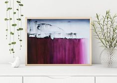 Abstract purple painting instant digital downloadable print printable painting large horizontal painting Heather day artist https://www.etsy.com/listing/636125947/downloadable-prints-printable-painting