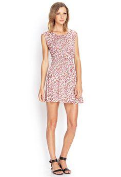 Ditsy Floral Fit & Flare Dress | FOREVER21 #SummerForever #OOTD