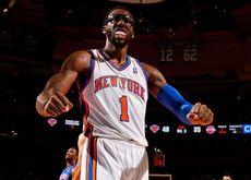 sports glasses nba basketball celebration new york knicks amare stoudemire 1920x1200 wallpaper