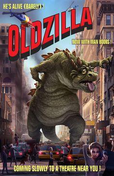 Oldzilla concept art loool , an upcoming chinese film   tags lol fun funny godzilla china