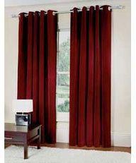 Red Velvet Curtains Living RoomsVelvet CurtainsLiving Room