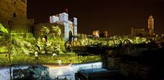 A night stroll in Jerusalem's Old City is always romantic. But Cupid's arrow seems to be pointing specifically at the Tower of David Museum in the capital.    Watch the sunset from the top of the citadel and enjoy the Night Spectacular show — a breathtaking sound and light show projected directly onto the 3,000-year-old walls.