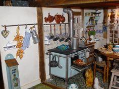 La cuisine -salon de Mamy matou - Mooghiscathmaison