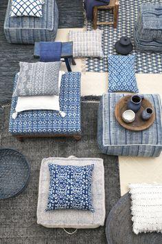 Blauw, blauw, blauw, wij houden van Indigo. Check de blog voor meer inspiratie.