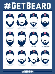 red sox beards Taking game 6 tonight see ya in the series St. Louise