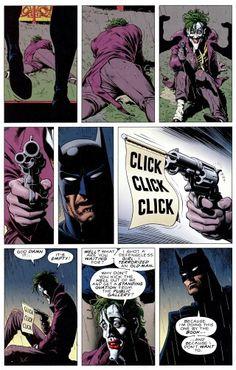 From Batman The Killing Joke.  #ComicBookArchive