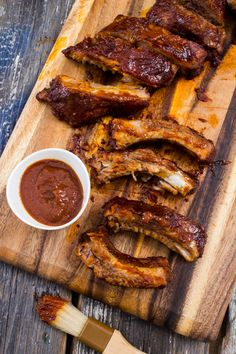 Beef Baby Back BBQ Ribs