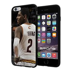 """NBA Basketball Player Kyrie Andrew Irving Cleveland Cavaliers, Cool iPhone 6 Plus (6+ , 5.5"""") Smartphone Case Cover Collector iphone TPU Rubber Case Black Phoneaholic http://www.amazon.com/dp/B00WGXHV9C/ref=cm_sw_r_pi_dp_7yPpvb15Q5ZGH"""