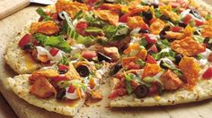 Pizza: Chicken Taco Pizza und PumkinCake