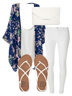 """Almost Summer! ☀️"" by fashionlifeforevaaa ❤ liked on Polyvore featuring Chicwish, Dorothy Perkins, Billabong and Style & Co."
