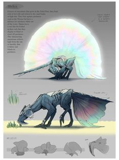 Mythical Creatures Art, Alien Creatures, Mythological Creatures, Magical Creatures, Monster Design, Monster Art, Monster Hunter, Monster Concept Art, Creature Drawings