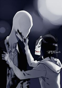 Slenderman and Jeff the Killer
