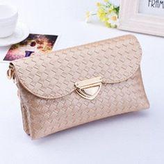Mara's Dream 2017 Fashion New Quilted knit Hasp top-handle Bags Women Weave Pattern Wallet Sali Shoulder Messenger Bag Handbag