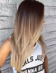 ▷ ideas for ombre blond hairstyles - top trends for summer - hair . - ▷ ideas for ombre blond hairstyles – top trends for summer – hair & make-up inspiration - Ombre Blond, Ombre Hair Color, Blonde Color, Blonde Balayage, Balayage Straight, Long Hair Colors, Baylage Ombre, Balayage Long Hair, Brown Balayage