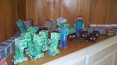 Make Do: Minecraft 8th Birthday Party