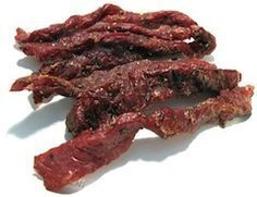 This Tried and True Venison Jerky Recipe Will Hit the Spot While some cuisine-crazed folks would just as well add exotic ingredients, this homemade venison jerky recipe is all you'll ever need. Elk Recipes, Venison Recipes, Cooking Recipes, Venison Jerky Recipe Oven, Recipes With Deer Meat, Venison Snack Stick Recipe, Beef Jerky Marinade, Venison Meals, Gourmet