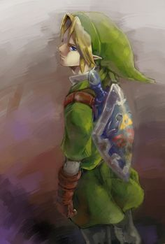 Link from The Legend of Zelda, which should really be entitled with Link's name in it...Just saying!