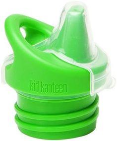 Klean Kanteen Kid Kanteen Sippy Bottle - Brushed Stainless - 12 oz