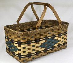 """BASKET PATTERN """"Mary"""" Farmer's Market or Vegetable Garden Basket by Bright Expectations on Etsy"""