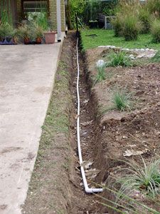 1000 images about french drains on pinterest french for Yard drainage slope