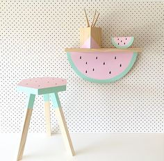Love this kids shelving- Timba tread