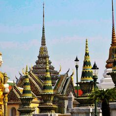 The Grand Palace  is a complex of buildings at the heart of Bangkok, Thailand. The Grand Palace is made up of numerous buildings, halls, gardens, pavilions and courtyards. Asymmetric and eclectic style is combined in The Grand Palace`s architecture and surroundings.
