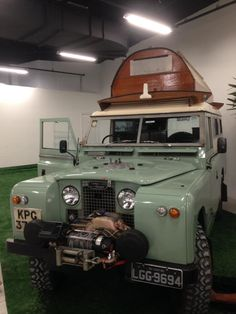SERIE 2A with CARAWAGON Range Rover Off Road, Airstream Caravans, Classic Trailers, Adventure Campers, Land Rover Defender 110, Expedition Vehicle, Jeep 4x4, Land Rovers, 4x4 Trucks