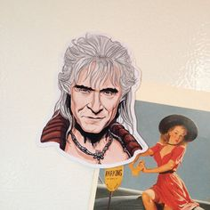 KHAN Magnet Star Trek by CastleMcQuade on Etsy