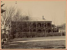 Seoul 1905:  Imperial Guest House.  Miss Alice Roosevelt, eldest daughter of President Theodore Roosevelt stayed here during her visit to Korea, September 19 - 30, 1905