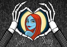 *JACK loves SALLY ~ The Nightmare before Christmas, 1993