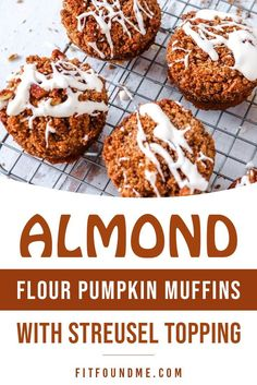 These are the easy almond flour pumpkins muffins you need to bake today. You will be the star of your kitchen for sure. Moist, melt in your mouth with a streusel topping so good you will savor every single crumb.The best part about these pumpkin muffins is there is no cane sugar and they so they are low carb which means even if you're trying to stay in ketosis, they will fit right into your macros.