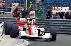 1992 GP Monaco (Ayrton Senna) McLaren MP4/7A - Honda