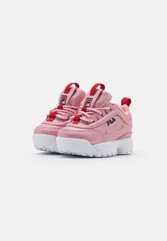 Fila DISRUPTOR INFANTS - Sneakers - lilac sachet - Zalando.se Baby Sneakers, Baby Shoes, Fila Disruptors, Infants, Lilac, Fashion, Baby Tennis Shoes, Young Children, Moda