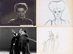 Eleanor Audley as Lady Tremaine & Maleficent. This lady amazes me having voiced two of Disney's villains.