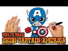 How to Draw Cute Chibi Thor Chibi Easy Kawaii Cartoon Drawing Tutorial for Kids - YouTube