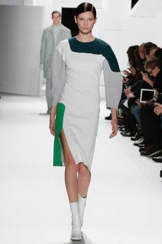 NY FALL 2013 READY-TO-WEAR  Lacoste  -pops of colour w/neutrals