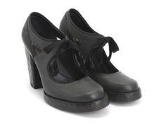 Hopscotch Tag, a lace-up Mary Jane heel - $200CAD #fluevog
