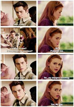 "S3 Ep1 ""Tattoo"" - Stiles and Lydia"