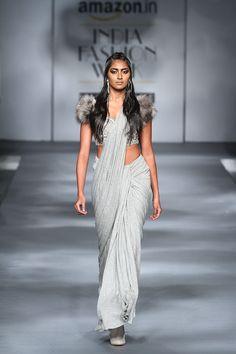 Sari 24/7 - Amazon India Fashion Week Autumn Winter 2017