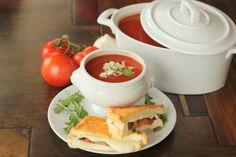 Tomato Gorgonzola Bisque - low carb YUM!