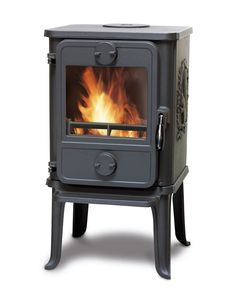 I've been researching efficient, small wood stoves that could replace the rocket stove in my house. Most home wood stove manufacturers' smallest models heat square feet at a minimum, which… Small Wood Burning Stove, Tiny Wood Stove, Small Stove, Small Wood Stoves, Morso Wood Stove, Wood Stoves For Sale, Wood Stove Heater, Wood Heaters, Small House Furniture