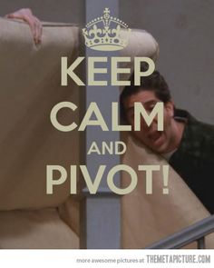 Hahahaha!! This is really the only 'keep calm' pic I've ever liked! Oh friends,  it's always funny!