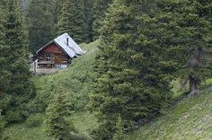 Remote mining cabin in central Colorado. Submitted by and photographed by Bob Winsett.