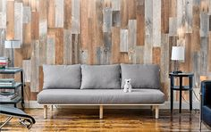 Artis Wall, Removable Wood Accent Wall Planks, Reaches Funding Goal on Kickstarter in Less than One Week Diy Home Decor Easy, Cute Home Decor, Handmade Home Decor, Home Decor Items, Cheap Home Decor, Easy Diy, Artis Wall, Reclaimed Wood Accent Wall, Wood Wall
