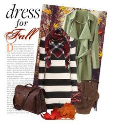 """Fall Dresses"" by joyfulnoise1052 on Polyvore featuring GE, H&M, KORS Michael Kors and longsleevedress"